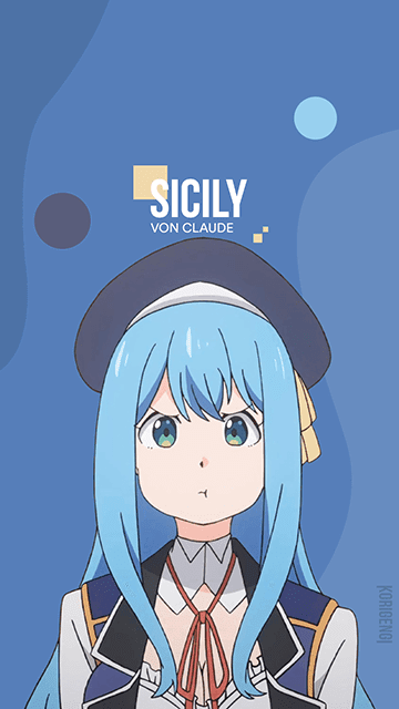 Sicily von Claude - Kenja no Mago Wallpaper