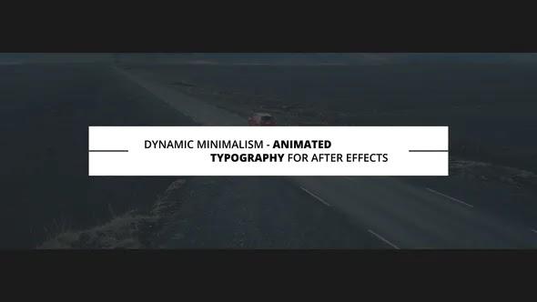 Videohive Dynamic Minimalism 23262824