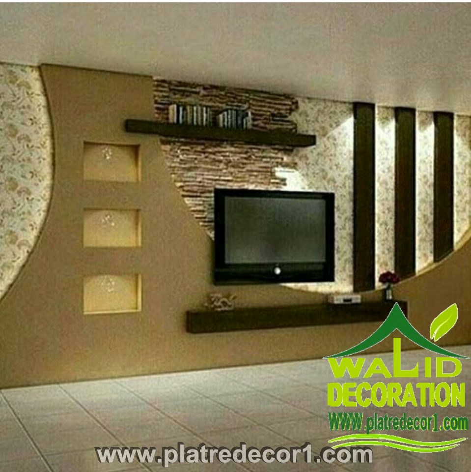 Decor platre 2016 for Decoration platre
