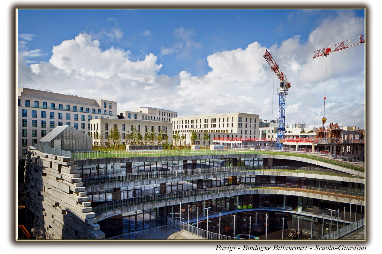Paris, Boulogne Billancourt - Scuola-Giardino