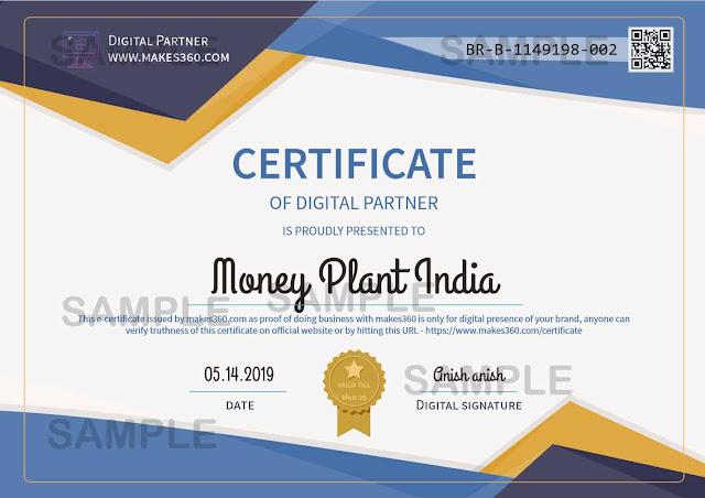 Digital Partner Certificate