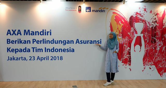 PT AXA Mandiri Financial Services (AXA Mandiri) bekerjasama dengan Komite Olimpiade Indonesia (KOI) memberikan perlindungan asuransi kepada seluruh atlet dan seluruh tim official Indonesia (lebih dari 1000 orang) selama Asian Games 2018 berlangsung dengan total perlindungan senilai 2.5 Miliyar.
