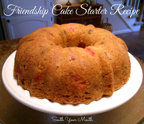 Friendship Fruit Cake & Starter Recipe