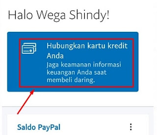 Menghubungkan Kartu Kredit ke Paypal