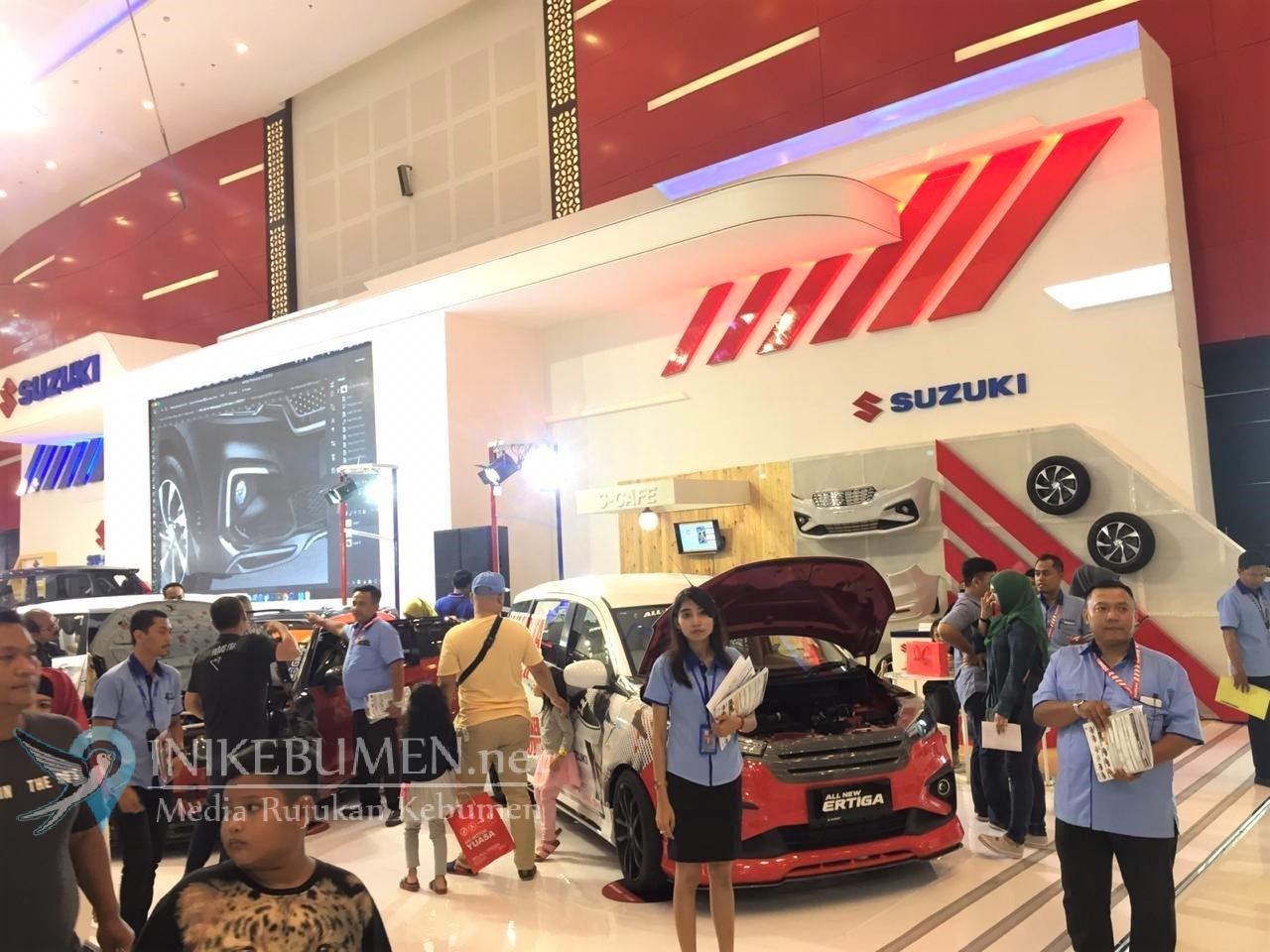 Suzuki Berhasil Menjual 869 Unit Kendaraan di GIIAS Surabaya 2019