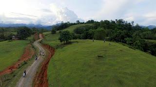 Bukit Teletubbies Masamba, Luwu Utara, Sulawesi Selatan