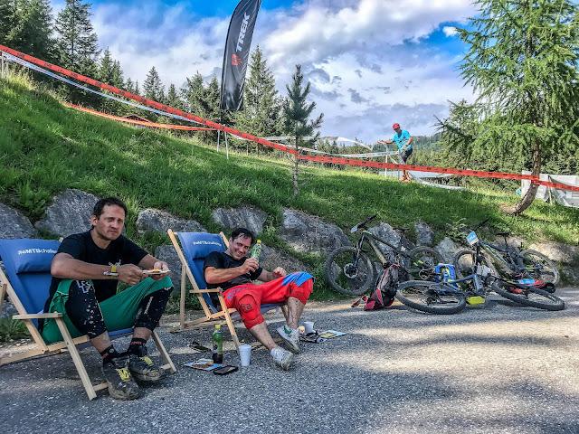 Verpflegungsstand Salzkammergut Trophy MTB Mountainbike Ebike