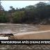 Barragens de áreas rurais em Jussiape transbordam; vídeo