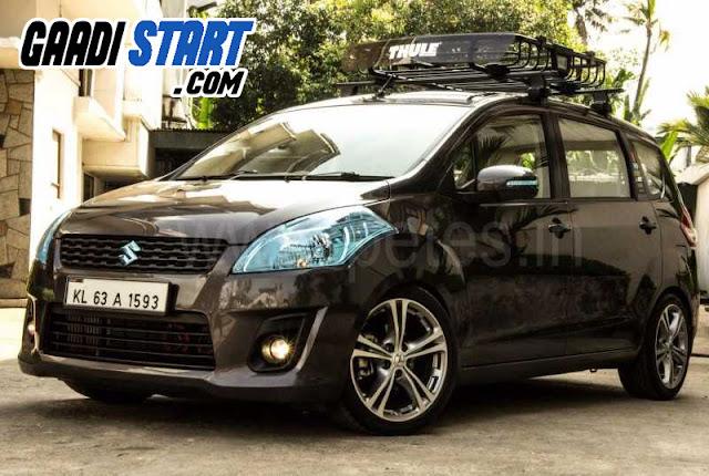 Modified Maruti Suzuki Ertiga
