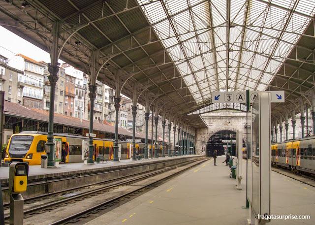Cidade do Porto - Portugal - Estação São Bento