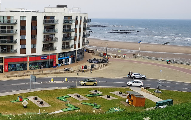 The North Bay Crazy Golf course in Scarborough