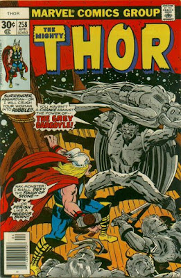 Thor #258, the Grey Gargoyle