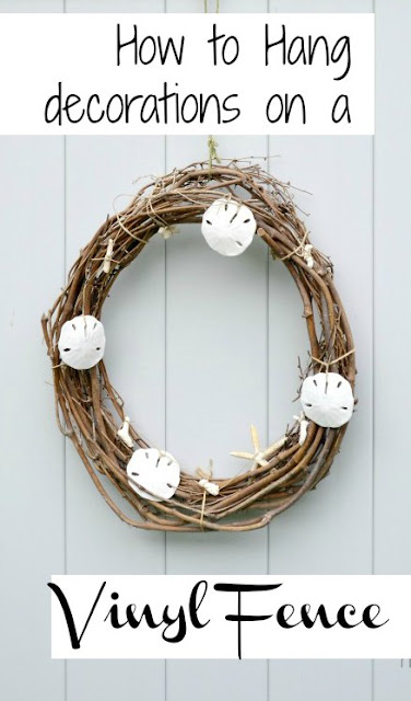 Pinterest pin with overlay wreath