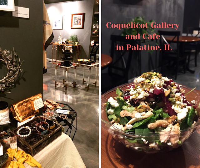 Fusion of Interesting Food and Intriguing Art at Coquelicot Gallery and Cafe in Palatine: An Interview with Owner Nana Takahashi