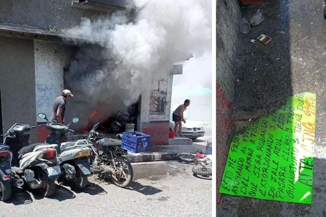 CJNG y ataca con granadas a negocios por supuestamente apoyar al Marro