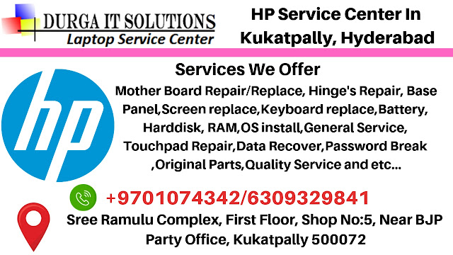 DurgaIT Solutions- HP Service Center in Kukatpally, Ameerpet