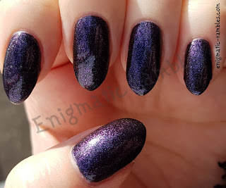 Enigmatic Rambles Swatches Nails Inc