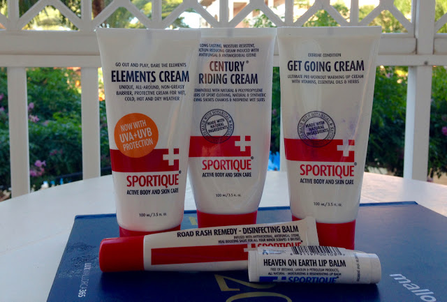 Review Sportique Natural Skincare Products