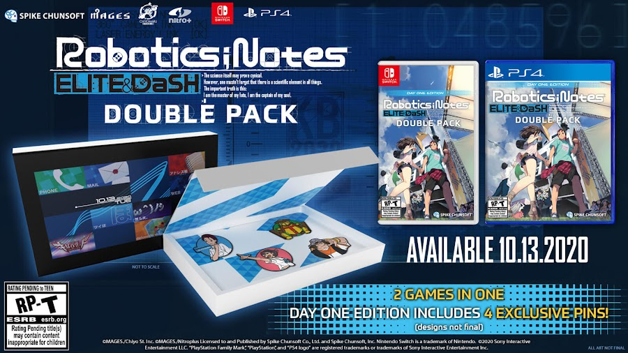 robotics notes elite dash double pack day one edition release date october 13 2020 science fiction visual novel 5pb spike chunsoft