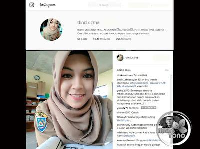 Rizma Uldiandari Guru Cantik dari SD Karangmangu, Tegal, Jawa Tengah