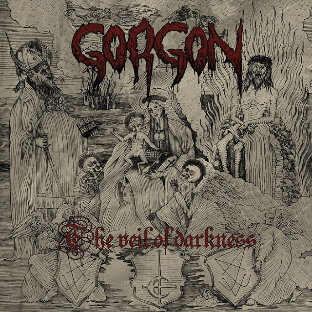 gorgon the veil of darkness 2019 black metal de france