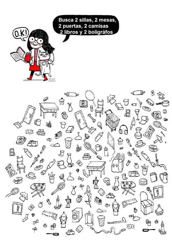 Spanish Test: Spanish Vocabulary Test for Kids (Mathing