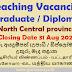 Teaching Vacancies - North Central Province