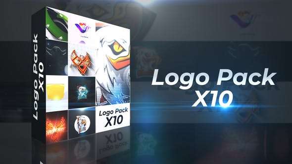 VIDEOHIVE LOGO REVEAL PACK X10