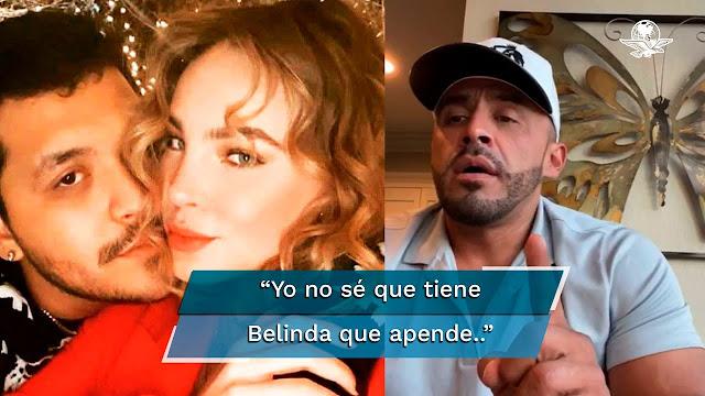 """Juan Rivera, hermano de Lupillo Rivera asegura que hay """"mejores que Belinda"""". lo tunden en redes"""