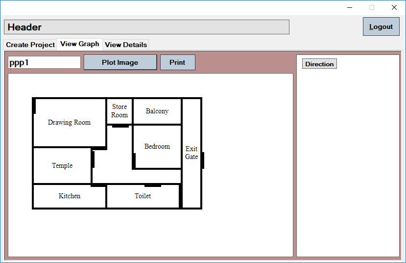 How To Draw Home Design In C Pallav