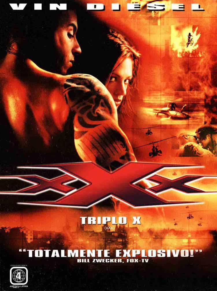 Triplo X Torrent - Blu-ray Rip 720p e 1080p Dual Áudio (2002)
