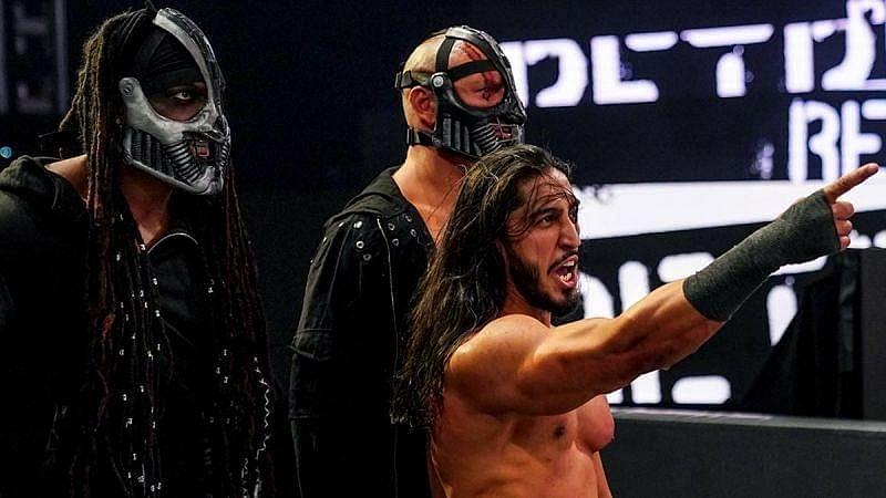 Mustafa Ali promete mudança na RETRIBUTION no WWE RAW desta noite