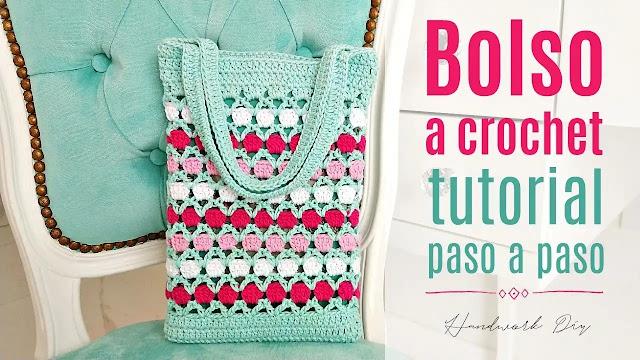 Tutorial Bolso Rápido y Fácil a Crochet DIY