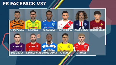 PES 2017 Facepack v37 by FR Facemaker