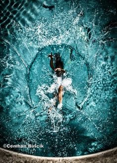 Splash Underwater Photography