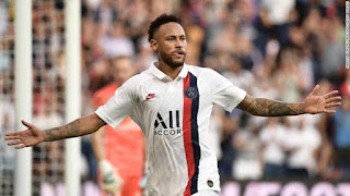 Neymar's Champions League ban for insulting match officials cut to two games