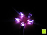 magenta: Yorbay® LED Weihnachtskerzen RGB/Warmweiß mit Fernbedienung mit Timerfunktion 10-100stk (20)