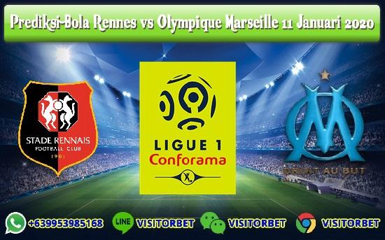 Prediksi Skor Rennes vs Olympique Marseille 11 Januari 2020