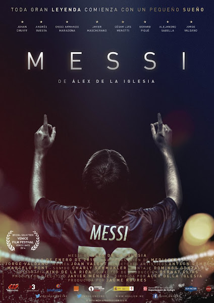Poster Of Messi 2014 720p Spanish HDRip Full Movie Download With ESubs
