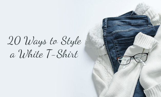 20 Ways to Style a White T-Shirt