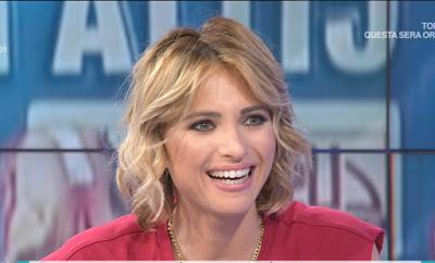 Monica Giandotti conduttrice tv unomattina 21 maggio sorriso