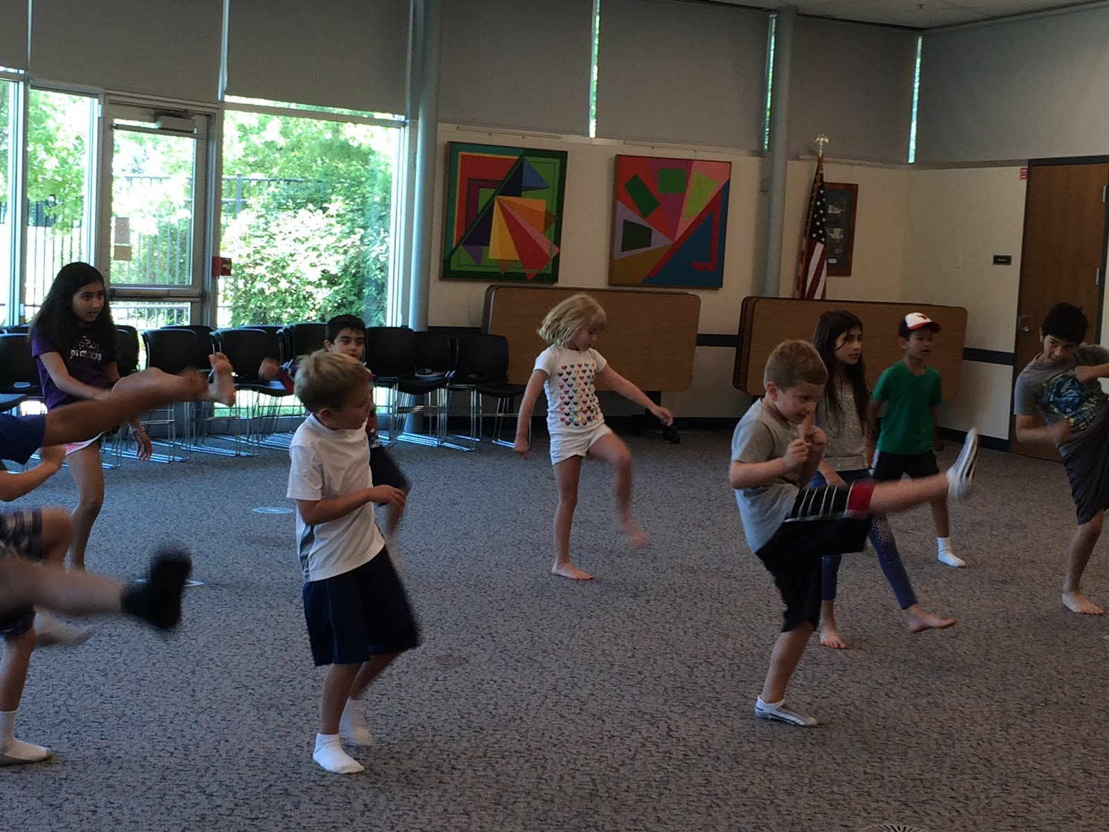 OBPL Youth Services Blog: True Balance Karate Class