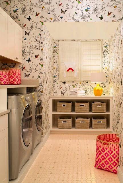 El rinc n vintage de karmela atenci n zona de lavander a for Decoracion de lavanderia