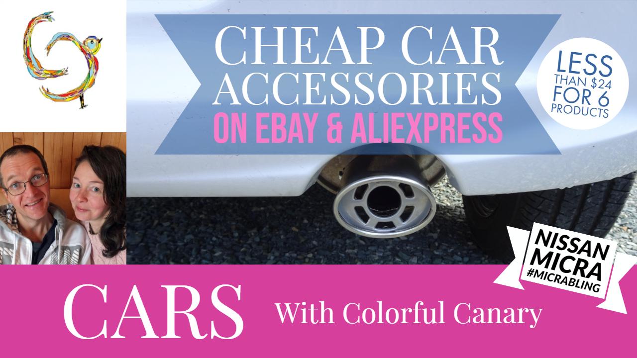 Cheap Car Accessories On Ebay & Aliexpress