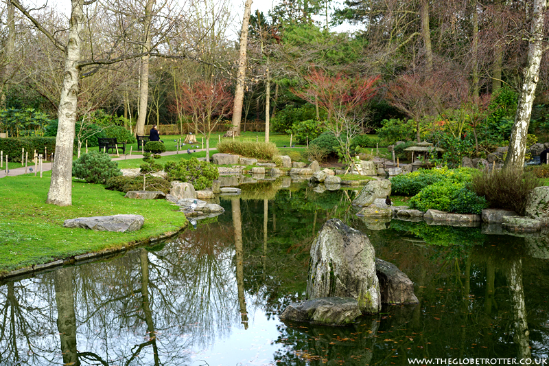 Kyoto Japanese Garden in Holland Park - London