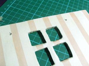 como hacer casitas de muñecas