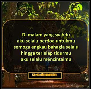 quotes selamat tidur meyentuh hati