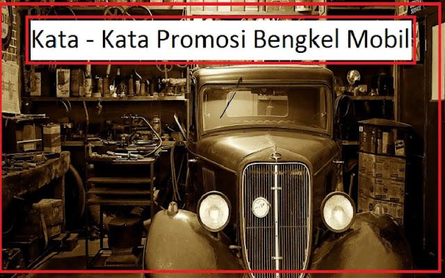 promosi bengkel mobil dan motor
