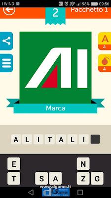 Iconica Italia Pop Logo Quiz soluzione pacchetto 1 livelli 2-25