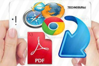 How To Save A Web Page To PDF File